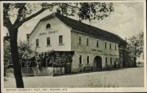 Ak Hainspitz Thüringen, Gasthof Hainspitz