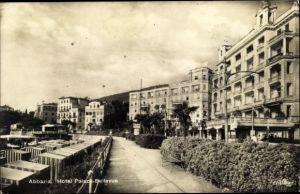 Ak Opatija Abbazia Kroatien, Hotel Palace Bellevue