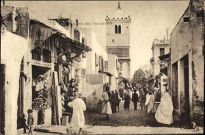 Ak Tunis Tunesien, Rue des Teinturiers