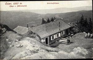 Ak Lohberg Niederbayern, Unterkunftshaus am Osser