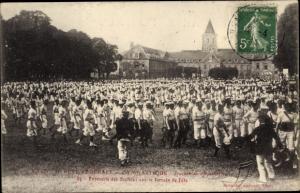 Ak Caen Calvados, Fete Federale de Gymnastique, Terrain de Fete, Turnfest, Turnvereine