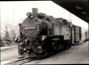 Foto Deutsche Eisenbahn, Dampflokomotive, Lok Nr 99 1772-5