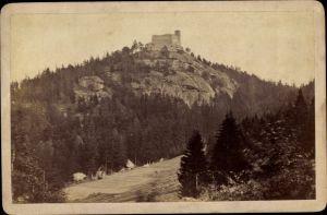 Foto Sobieszów Hermsdorf Kynast Riesengebirge Schlesien, Totalansicht