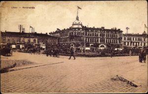 Ak Liepaja Libau Lettland, Rosenplatz