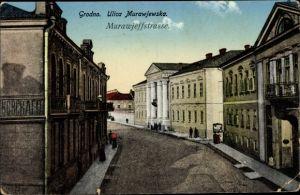 Ak Hrodna Grodno Weißrussland, Murawjeffstraße
