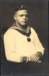 Foto Ak Deutscher Seemann in Uniform