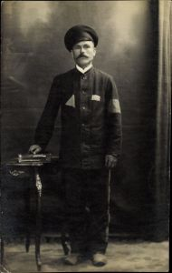 Foto Ak Russischer Kriegsgefangener im Kaiserreich, Portrait, Nummer 3122