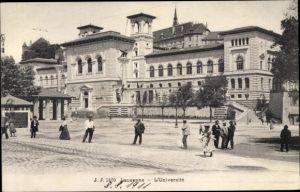 Ak Lausanne Kt. Waadt, L'Université