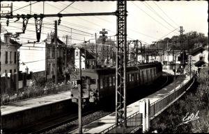Ak Lozere sur Yvette Essonne, Vue de la Gare, Chemin de Fer