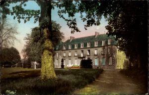 Ak Broglie Eure, Vue du Château