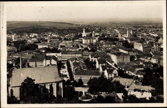 Ak Miskolc Mischkolz Ungarn, Panorama