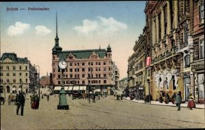 Ak Brno Brünn Südmähren, Freiheitsplatz