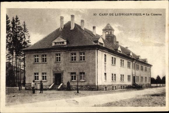 Ak Ludwigswinkel Dahner Felsenland, Caserne, Camp militaire