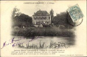 Ak Corneville sur Risle Eure, L'Abbaye