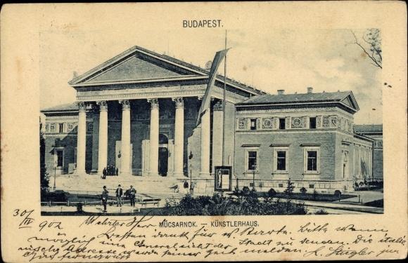 Ak Budapest Ungarn, Künstlerhaus