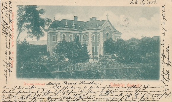 Ak Szob Zopp an der Donau Ungarn, Blick zur Kirche