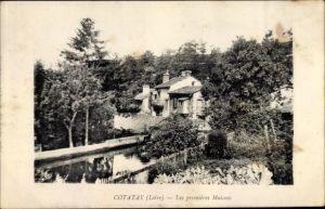 Ak Cotatay Loire, Les premieres Maisons