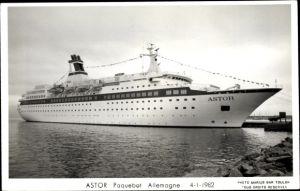 Ak Dampfschiff Astor, Paquebot