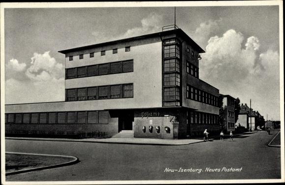 Ak Neu Isenburg in Hessen, Neues Postamt