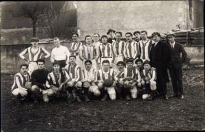 Foto Ak Rugby, Fußball, Mannschaft, Gruppenbild in Trikots