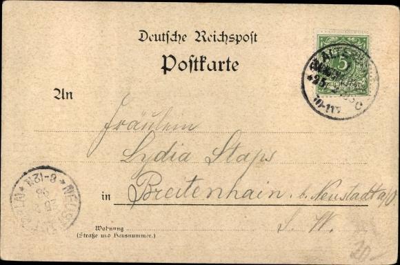 Wappen Ak Ernst von Sachsen Altenburg, Adelheid von Schaumburg Lippe, Hochzeit 1