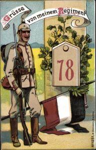 Regiment Litho Regiment 78, Soldat in Uniform