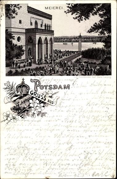 Litho Potsdam in Brandenburg, Meierei