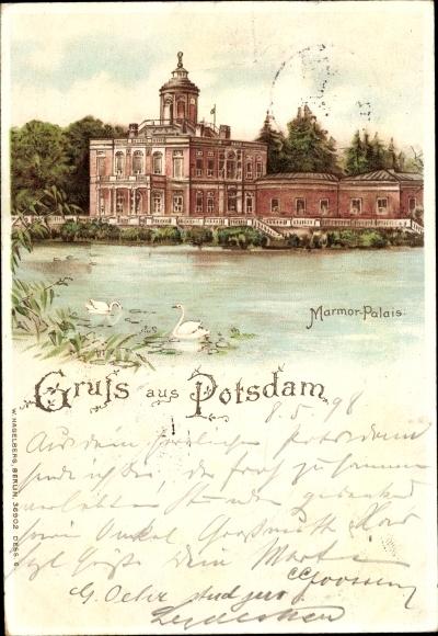 Litho Potsdam in Brandenburg, Marmor Palais