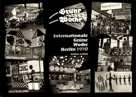 Ak Berlin Charlottenburg, Internationale Grüne Woche 1970