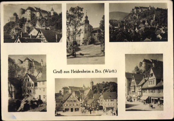 Ak Heidenheim an der Brenz Baden Württemberg, Teilansichten