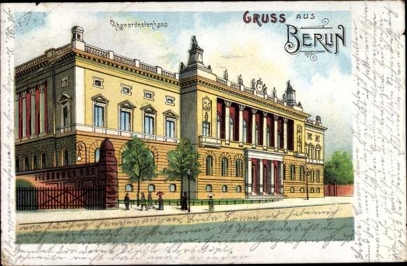 Litho Berlin-Mitte, Preußisches Abgeordnetenhaus