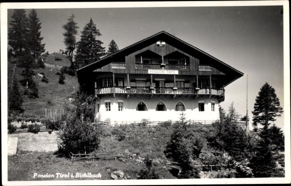 Foto Ak Bichlbach in Tirol, Pension Tirol