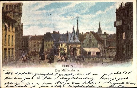 Litho Berlin, Partie am Mühlendamm