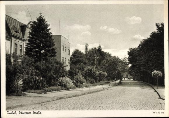 Ak Tuchola Tuchel Pommern, Schwetzer Straße