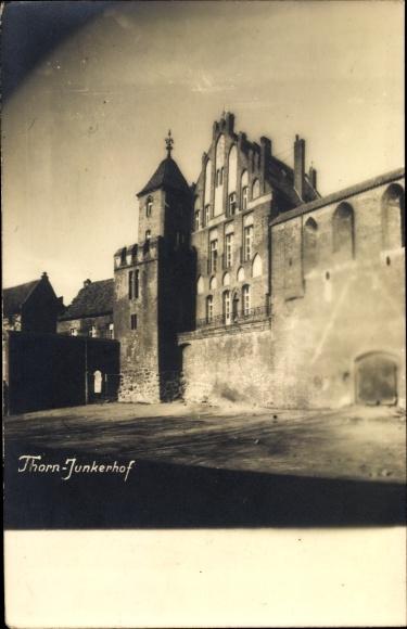 Foto Ak Toruń Thorn Westpreußen, Junkerhof