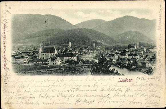 Relief Ak Leoben Steiermark, Panorama