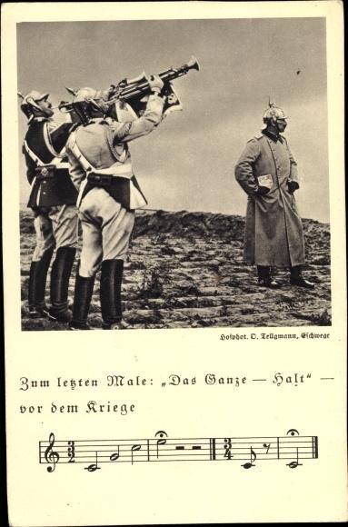 Lied Ak Zum letzten Male, Das Ganze Halt, Kaiser Wilhelm II.