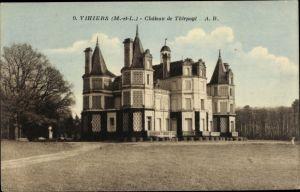 Ak Vihiers Maine et Loire, Chateau de Thirpoyl