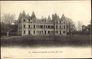 Ak Vihiers Maine et Loire, Chateau de Fougerolle