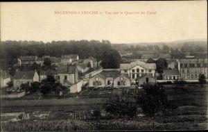 Ak Migennes Laroche Yonne, Vue sur le Quartier du Canal