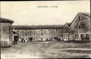 Ak Saint Joire Lothringen Meuse, La Forge