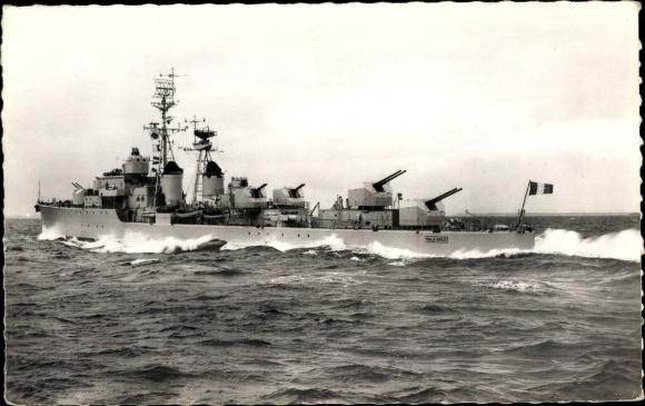 Ak Französisches Kriegsschiff, Maille Breze, Escorteur d'Escadre