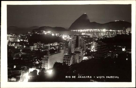 Ak Rio de Janeiro Brasilien, Vista parcial