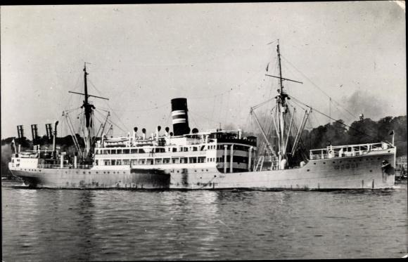 Ak Dampfer Empire Yue, Gogol, Woermann Linie Hamburg