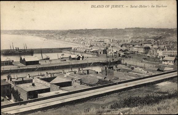 Ak Saint Helier Jersey Kanalinseln, Harbour