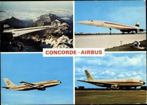 Ak Concorde der British Aircraft Corporation, Airbus A300B