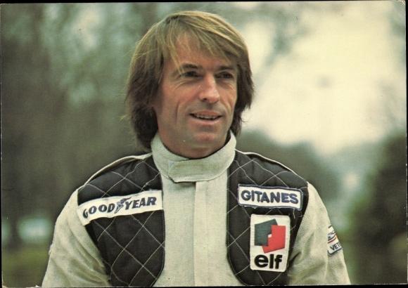 Ak Rennfahrer Jacques Laffitte, Ligier Gitanes JS 11, Formule 1 1979