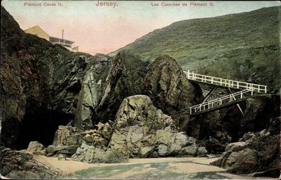 Ak Jersey Kanalinseln, Plemont Caves
