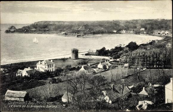 Ak Saint Brélade Jersey Kanalinseln, St. Brelade's Bay