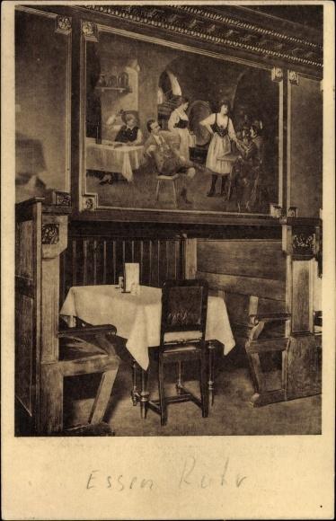 Ak Essen im Ruhrgebiet, Gassmanns Hotel und Restaurant Im alten Löwen, Branstraße 16